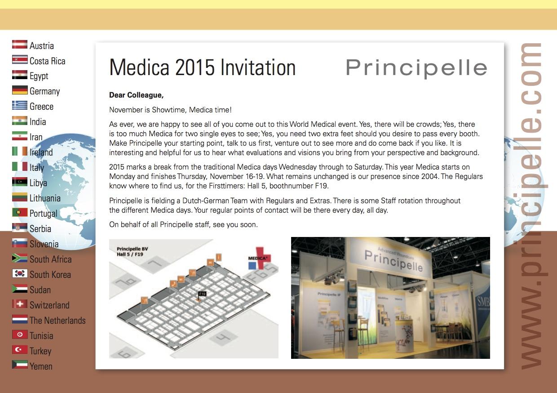 web 151020 PP uitnodiging A5 Medica 2015
